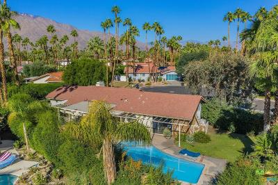 Palm Springs Single Family Home For Sale: 3167 East San Martin Circle