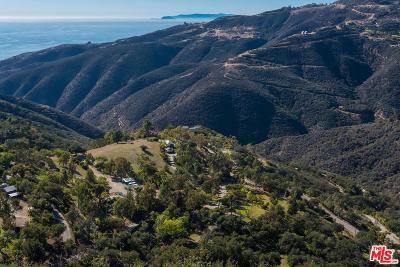 Malibu CA Single Family Home For Sale: $3,950,000
