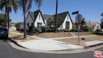 Mid Los Angeles (C16) Single Family Home For Sale: 1802 South Orange Drive