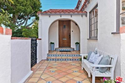 Santa Monica Single Family Home For Sale: 2207 Cloverfield Blvd.
