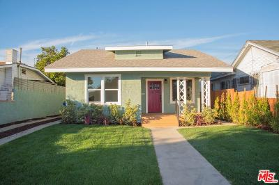 Mid Los Angeles (C16) Single Family Home For Sale: 3217 Montclair Street
