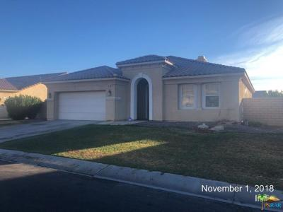 Indio Single Family Home For Sale: 41368 Montcalm Court