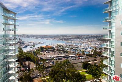Marina Del Rey Rental For Rent: 13600 Marina Pointe Drive #1601