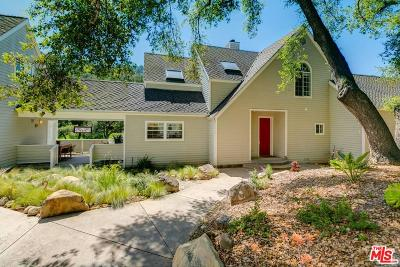 Ojai Single Family Home For Sale: 1511 Nova Lane