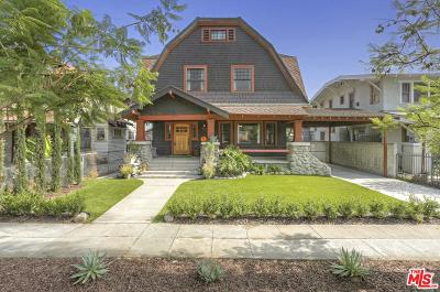 Mid Los Angeles (C16) Single Family Home For Sale: 1802 South Oxford Avenue