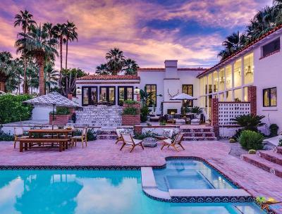 Palm Springs Single Family Home For Sale: 244 West Camino Buena Vista