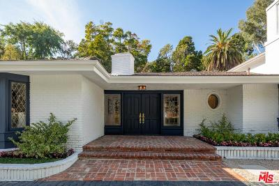 Beverly Hills Single Family Home For Sale: 1133 San Ysidro Drive