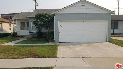 Culver City Single Family Home For Sale: 11506 Segrell Way