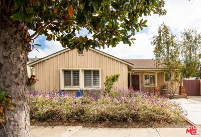 Culver City Single Family Home For Sale: 11416 McDonald Street