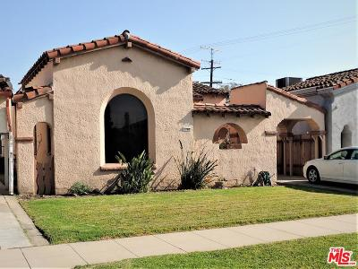 Mid Los Angeles (C16) Single Family Home For Sale: 1768 South Ogden Drive