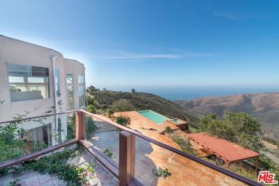 Malibu CA Single Family Home For Sale: $4,900,000