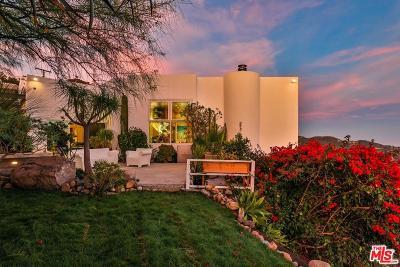 Malibu Single Family Home For Sale: 24736 West Saddle Peak Road