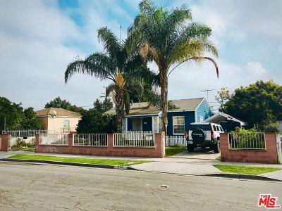 Compton Single Family Home For Sale: 208 South Thorson Avenue
