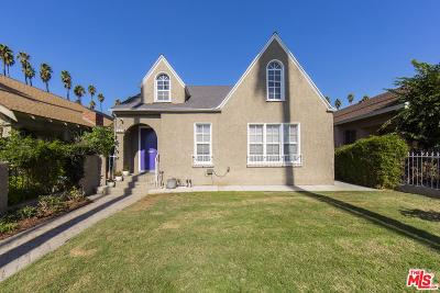 Mid Los Angeles (C16) Single Family Home For Sale: 2337 West 31st Street
