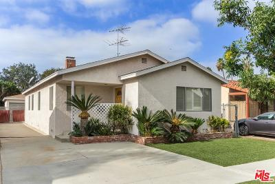 Culver City Single Family Home For Sale: 3121 Roberts Avenue