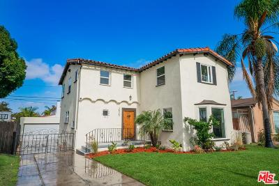 Inglewood Single Family Home Sold: 2525 West 81st Street