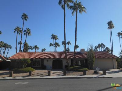 Palm Springs Single Family Home For Sale: 1488 South La Reina Way