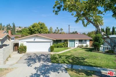 Granada Hills Single Family Home For Sale: 16349 Flanders Street