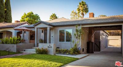 Sherman Oaks Single Family Home For Sale: 15119 La Maida Street