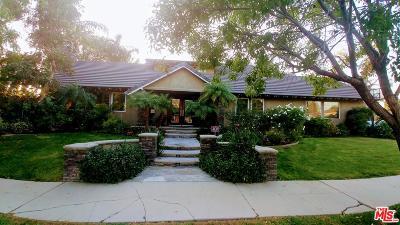Single Family Home For Sale: 15700 Marilla Street
