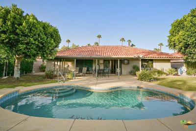 Palm Springs Single Family Home For Sale: 1489 East Francis Drive