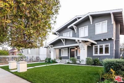 Mid Los Angeles (C16) Single Family Home For Sale: 4536 Lomita Street