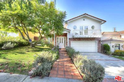 Cheviot Hills/Rancho Park (C08) Single Family Home For Sale: 10563 Cheviot Drive
