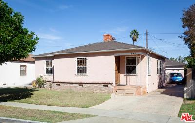 Mid Los Angeles (C16) Single Family Home For Sale: 5931 Comey Avenue