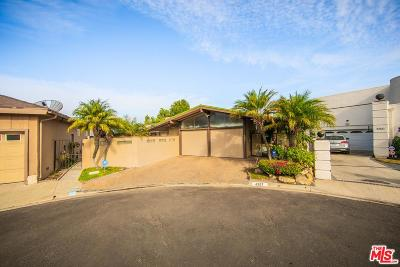 Los Angeles Single Family Home Active Under Contract: 4207 Don Alegre Place