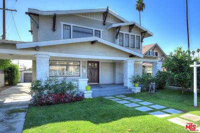 Mid Los Angeles (C16) Single Family Home For Sale: 4530 West Washington