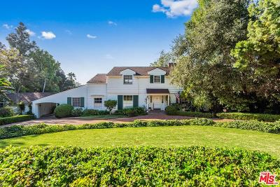 Pacific Palisades Single Family Home For Sale: 1529 Amalfi Drive