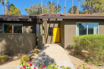 Palm Springs Single Family Home For Sale: 3140 East Escoba Drive