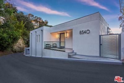 Single Family Home For Sale: 8540 Hillside Avenue
