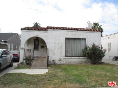 Los Angeles Single Family Home For Sale: 2633 Hauser