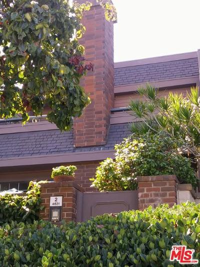 Condo/Townhouse For Sale: 4631 Alla Road #2