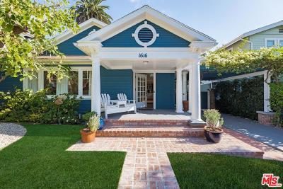Single Family Home For Sale: 1616 North Curson Avenue