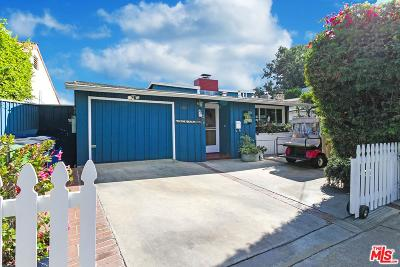 Pacific Palisades Single Family Home For Sale: 682 Swarthmore Avenue