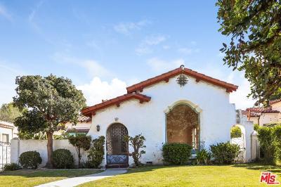 Single Family Home For Sale: 160 South Gardner Street