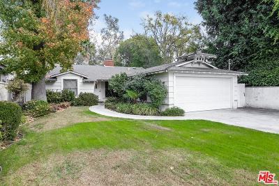 Sherman Oaks Single Family Home For Sale: 5010 Fulton Avenue