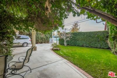 Sherman Oaks Single Family Home For Sale: 5536 Tyrone Avenue