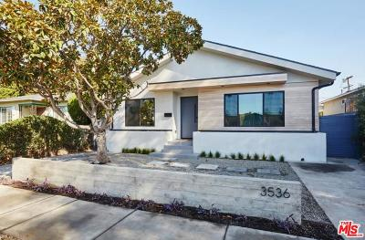 Los Angeles Single Family Home For Sale: 3536 Maplewood Avenue