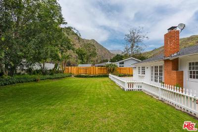 Malibu Single Family Home For Sale: 5945 Paseo Canyon Drive