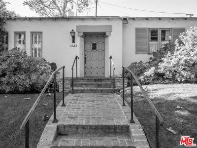 Single Family Home For Sale: 1325 Thayer Avenue