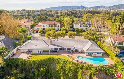 Pacific Palisades Single Family Home For Sale: 632 Amalfi Drive