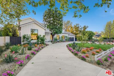 Toluca Lake Single Family Home For Sale: 4715 Arcola Avenue