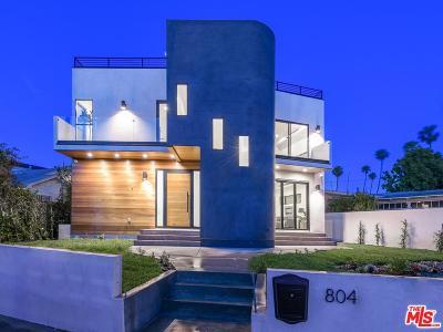 Venice Single Family Home For Sale: 804 California Avenue