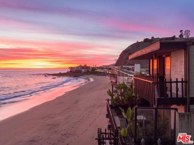 Malibu Single Family Home For Sale: 21640 Pacific Coast Highway