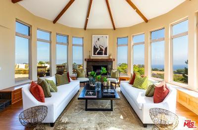 Topanga Single Family Home For Sale: 21641 Saddle Peak Road