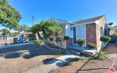 Inglewood Single Family Home Active Under Contract: 706 West Spruce Avenue