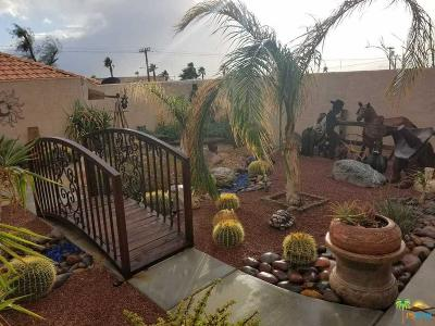 Desert Hot Springs Single Family Home For Sale: 11880 Ambrosio Drive